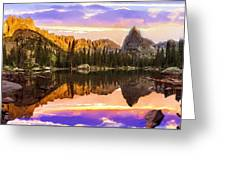 Mirror Lake Yosemite National Park Greeting Card