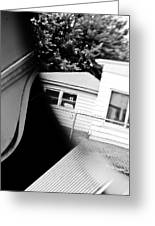 Mirrored House Greeting Card