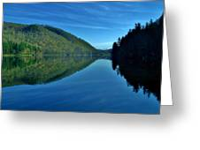 Mirrored In The Lake Greeting Card