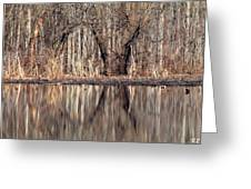 Mirrored Opening Greeting Card