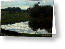 Mirrored Sky Greeting Card