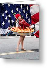 Miss Fourth Of July Greeting Card