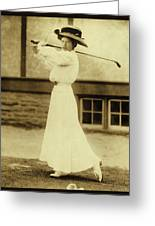 Miss Katherine Harley Greeting Card