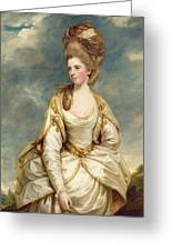 Miss Sarah Campbell Greeting Card by Sir Joshua Reynolds