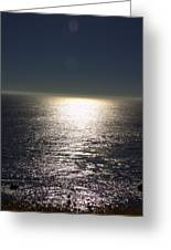 Missing Sun Greeting Card