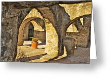 Mission Arches Greeting Card