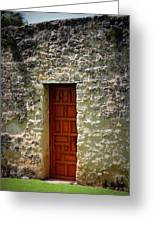 Mission Concepcion - Door Greeting Card