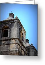 Mission Concepcion - Tower Greeting Card