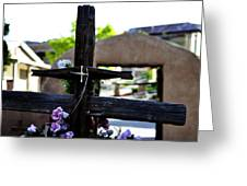 Mission Cross Greeting Card