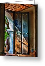Mission Door Greeting Card