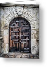 Mission Doors Greeting Card
