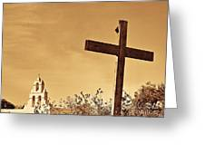 Mission In Sepia Greeting Card