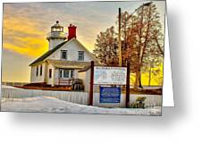 Mission Point Michigan Greeting Card