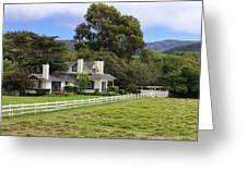 Mission Ranch - Carmel California Greeting Card by Glenn McCarthy Art and Photography