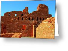 Mission Ruins At Abo Greeting Card