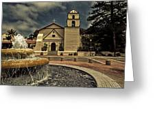 Mission San Buenaventura Greeting Card