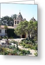 Mission San Carlos Borromeo Del Rio Carmelo Greeting Card