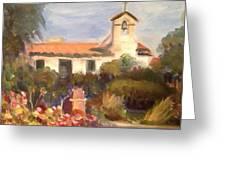 Mission San Juan Capistrano California Greeting Card