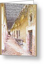 Mission San Juan Capistrano No 5 Greeting Card