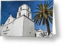 Mission San Luis Rey - California Greeting Card