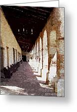 Mission San Miguel Greeting Card