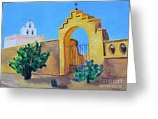 Mission San Xavier Greeting Card