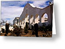 Mission San Xevier Del Bac Greeting Card