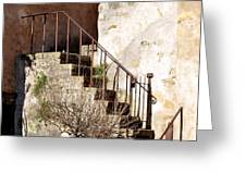 Mission Stairs Greeting Card