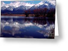 Mission Valley Montana Greeting Card