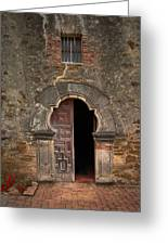 Missions Of San Antonio Greeting Card by Cindy Rubin
