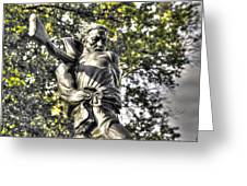 Mississippi At Gettysburg - Desperate Hand-to-hand Fighting No. 2 Greeting Card