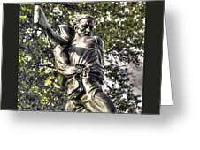 Mississippi At Gettysburg - The Rage Of Battle No. 2 Greeting Card