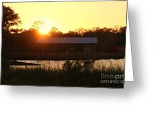 Mississippi Bayou 6 Greeting Card