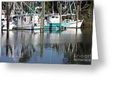Mississippi Boats Greeting Card