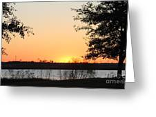 Mississippi Sunset 11 Greeting Card