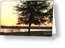 Mississippi Sunset 13 Greeting Card