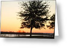 Mississippi Sunset 14 Greeting Card