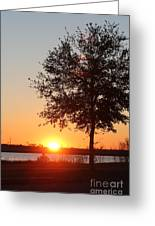 Mississippi Sunset 6 Greeting Card