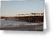 Misson Beach  Greeting Card