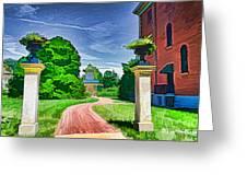 Missouri Botanical Garden Pathway Greeting Card