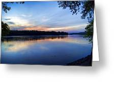 Missouri River Blues Greeting Card
