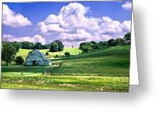Missouri River Valley Greeting Card