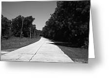 Missouri Route 66 2012 Bw Greeting Card