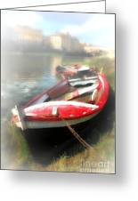 Mist On The Arno Greeting Card