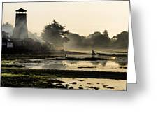 Mist On The Morning Tide Greeting Card by Trevor Wintle
