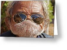 Mister Big Lip Greeting Card