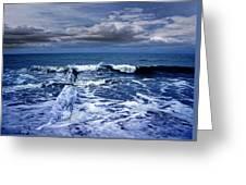 Mister Kallinski And The Sea Greeting Card