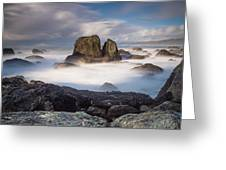 Mists Of The Sea Greeting Card