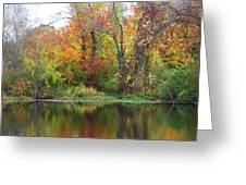 Misty Fall Greeting Card