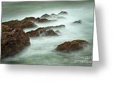 Misty Waves Greeting Card